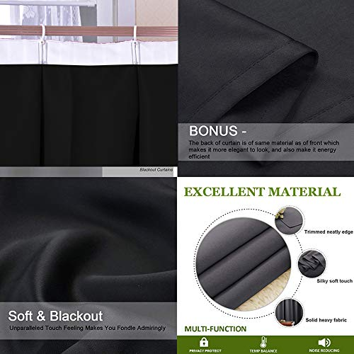 PRUNUS Waterproof Window Curtain Quotes Vacations Getaways Dream Words Summer Time House Ideas Wall Photo Art Sleep Well Blackout Curtain wuth Hook for Bedroom,W72 xL108