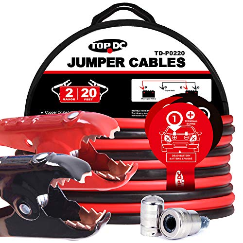 TOPDC Jumper Cables 2