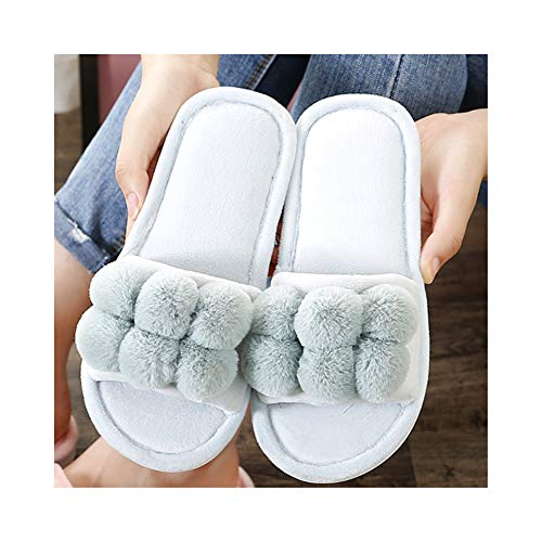 Slipper Cotton Slippers,casual Flax Uk Toe Women,soft Washable House Comfort Slippers 6 Men Shoes Striped Open Slip Beautiful On 7 Green Foam Sole Season Home Lomas Indoor Four Soft Bedroom Cute Memory nFqYaxAT