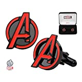 Marvel The Avengers Logo Stainless Steel Cufflinks w/Gift Box by Superheroes Brand