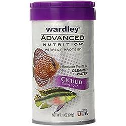 Wardley Advanced Nutrition Perfect Protein Cichlid Fish Food Flakes - 1oz