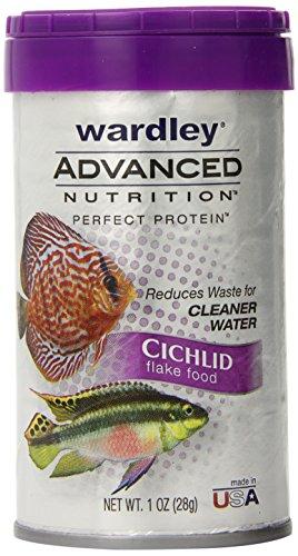 Hartz Wardley Advanced Nutrition Cichlid Flakes, 1-Ounce