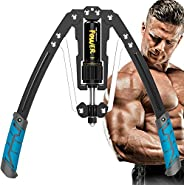 Twister Arm Exerciser - Adjustable 22-440lbs Hydraulic Power/Home Chest Expander GEEZO Shoulder Muscle Trainin