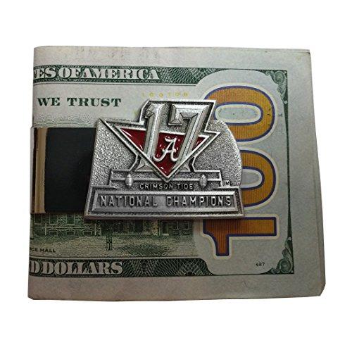 Alabama 2017 National Champions Merchandise (Money Clip)