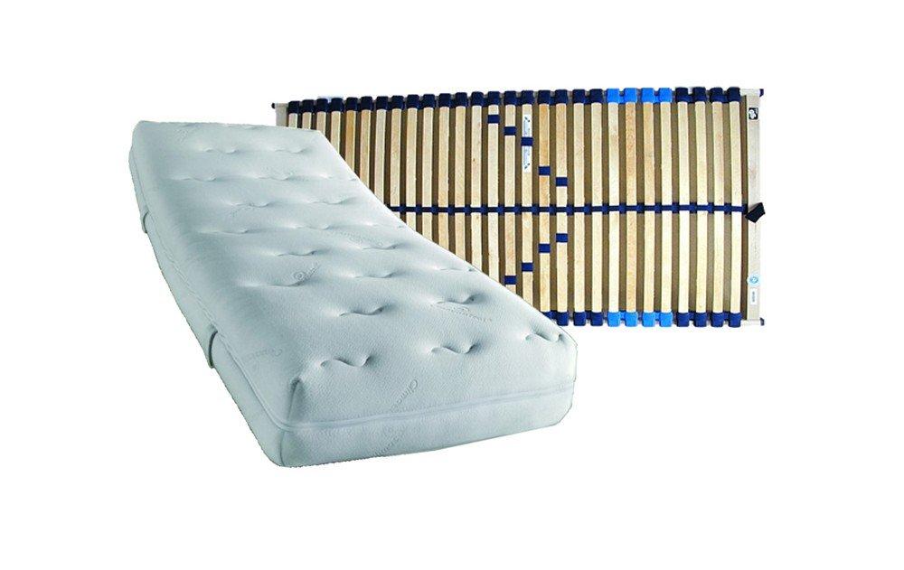 Komfort Plus KS 7-zonas colchón de espuma fría en grado de dureza 100 x 200 cm 3/H3 Plus somier COMFORT-FLEX regulables de 100 x 200 cm - envío ...