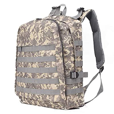 GINGOOD PUBG Tactical Backpack Military Rucksack Molle Assault Daypack for Adventure Trekking Hiking Camping Climbing Traveling School 30L