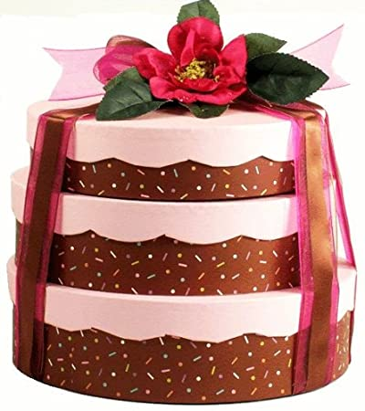 Amazon Com Birthday Cake Gift Tower Grocery Gourmet Food