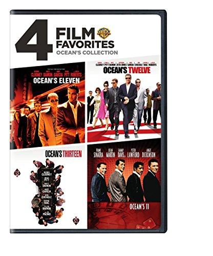 4 Film Favorites: Ocean's Collection (Ocean's 11 (1960), Ocean's Eleven (2001), Ocean's Twelve, Ocean's - Ocean Outlets