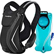 EnergeticSky Hydration Backpack Pack with 2L Hydration Bladder Water Rucksack Backpack Bladder Bag Cycling Bicycle Bike…