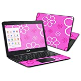 MightySkins Protective Vinyl Skin Decal Cover for ASUS Chromebook 13.3'' Cover wrap sticker skins Flower Power