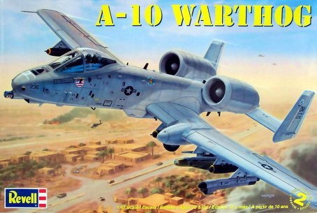 Review Revell 1:48 A10 Warthog