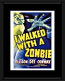 Retro Movie Prints: I Walked With a Zombie - Movie Print - 40x30cm