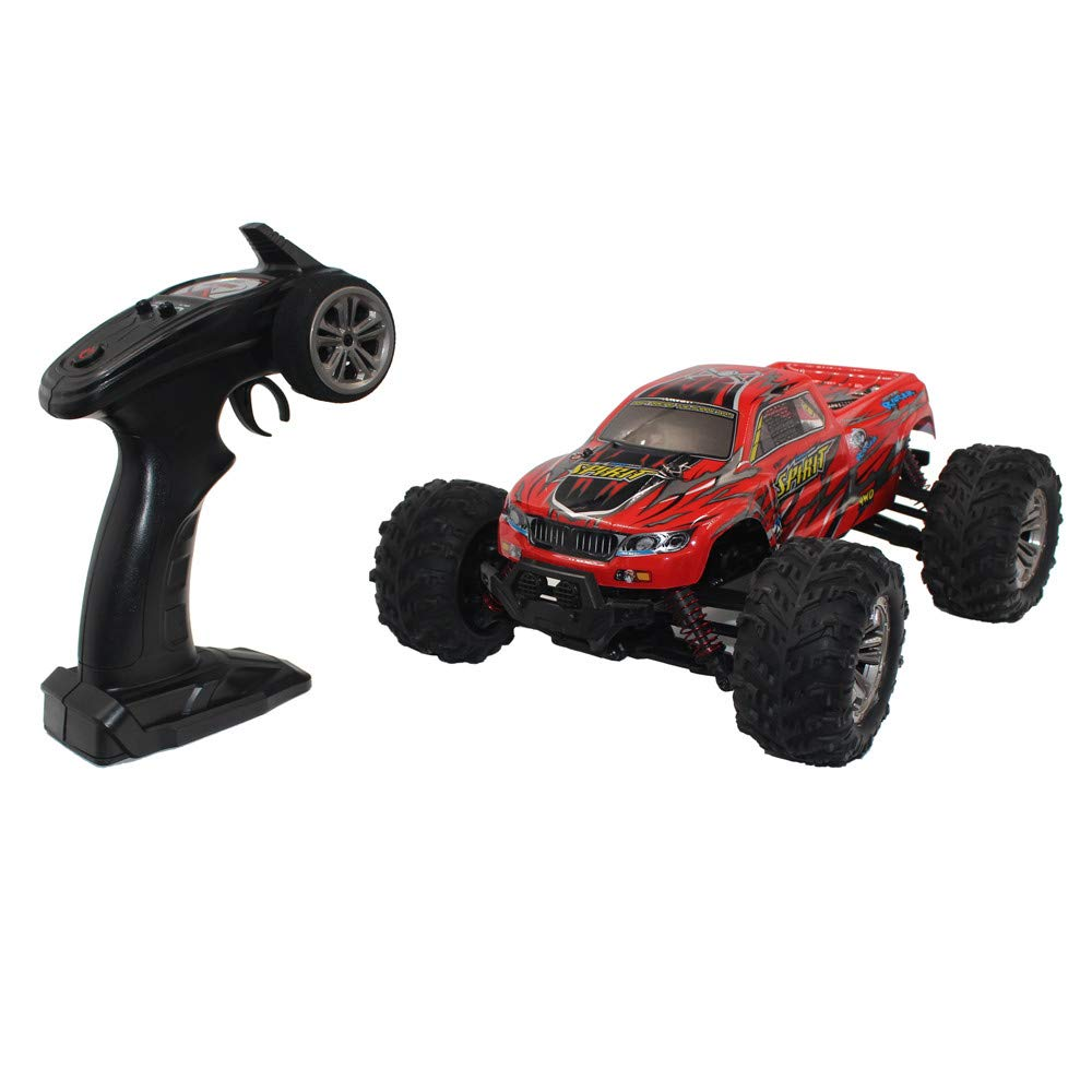 Choosebuy 1:16 Off-Road Remote Control Racing Car with 2.4GHz Technology, 4WD High Speed RC Tracked Cars Buggy Toys for Indoors/Outdoors, Best Christmas Birthday Gift for Children and Adults (Red)