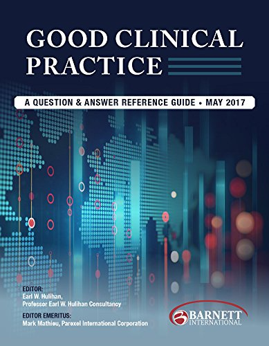 Good Clinical Practice  A Question   Answer Reference Guide  May 2017