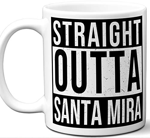Gift Mug For Invasion of the Body Snatchers, Halloween III: Season of the Witch Fan. Straight Outta Santa Mira. Funny Him Her Coffee Tea Women Men Birthday Christmas Fathers Day Mothers Day. -