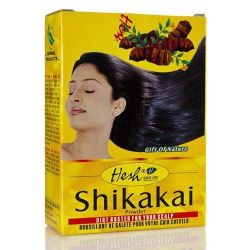 Shikakai Powder 3.5oz (100g) - Hesh Pharma (Pack of 3) (Shikakai Amla Powder)