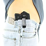 ComfortTac Concealed Carry Holster | Carry Inside The Waistband IWB or Outside The Waistband OWB | Size 1 Fits S&W Bodyguard