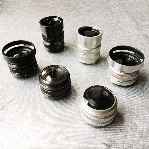 ZQ House 6PCS Non-Working Dummy DSLR Camera Lens Model Photo Studio Props by ZQ House