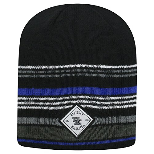 (Top of the World Kentucky Wildcats Official NCAA Uncuffed Knit Avenue Stocking Stretch Sock Hat Cap Beanie 463896 )
