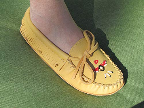 Chief Sole Padded Laurentian Double Moccasin Tan 1qwpnPCx