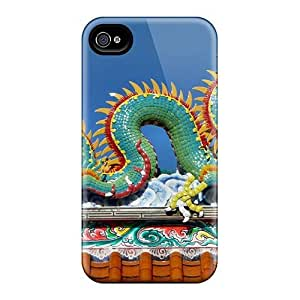 Awesome Beautiful Dragon Flip Cases With Fashion Design For Iphone 6