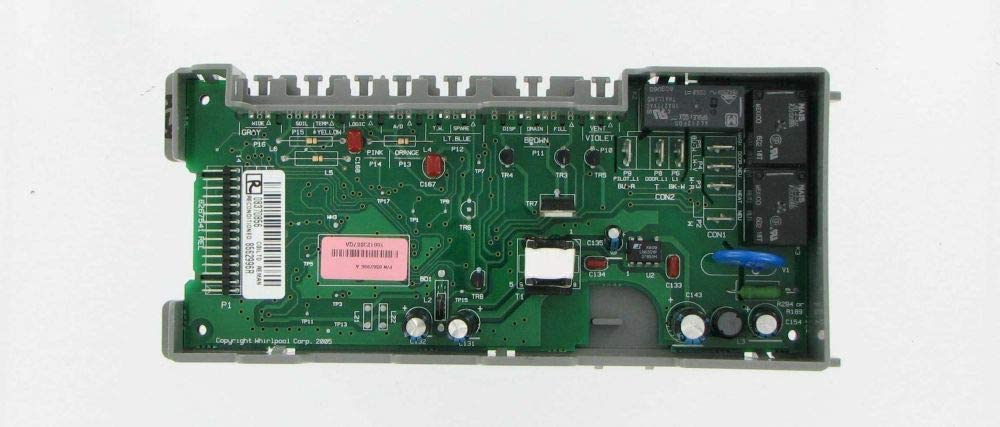 CoreCentric Dishwasher Control Board replacement for Whirlpool W10084142 / WPW10084142 (Renewed)