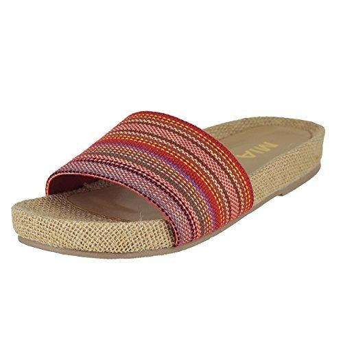 Mia Womens Linara Sandals  Red Carnival  7 5 B M  Us