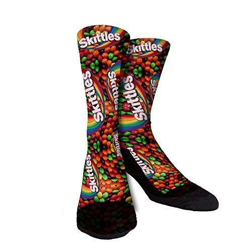 Just Sockz Skittles Socks Large -