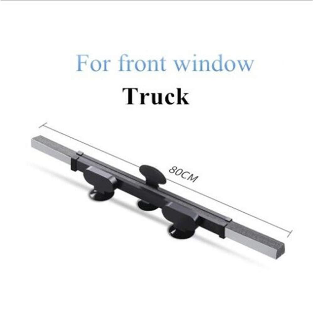 JeromKewin Car Window Shade Retractable Sun Shade Cover Foldable Front Windscreen Sun Block Anti-UV Shield Curtain