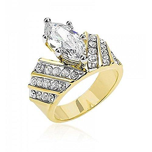 WildKlass Venetian Crown Ring - 18k Gold Electroplated Mens Ring