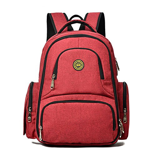 Baby-Diaper-Bag-Waterproof-Travel-Diaper-Backpack-with-Changing-Pad-and-Stroller-Clips