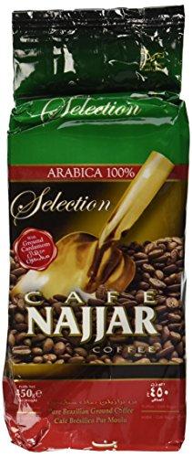 Cafe Najjar Noteworthy with Cardamom Turkish-style ground coffee 450g (1 lbs) (Lebanon)