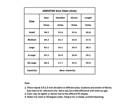 Dokotoo Womens Shirts Loose Plus Size Casual Summer Solid Autumn Long Sleeve V Neck Chiffon Tops Blouses T Shirts for Work X-Large by Dokotoo (Image #2)