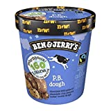 Chocolate Light Ice Cream with Gobs of Chocolate Chip Peanut Butter Cookie Dough Welcome to Ben & Jerry's Moo-PhoriaTM where you can indulge in the chunks & swirls you love at 160 calories per serving. Is there anything more euphoric ...