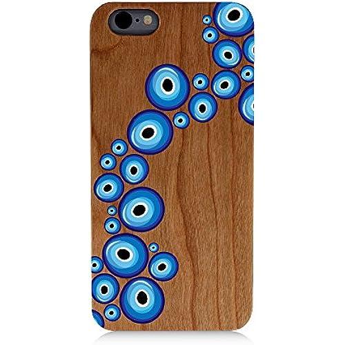 Evil Eye Path Uv Print Cherry Wood Natural Wooden Case Bright Print Samsung Galaxy s7 Sales