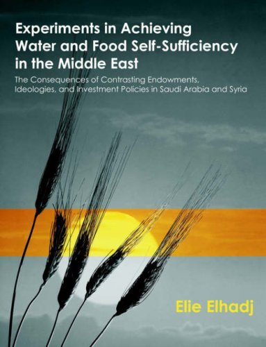 Experiments in Achieving Water and Food Self-Sufficiency in the Middle East: The Consequences of Contrasting Endowments, Ideologies, and Investment Policies in Saudi Arabia and Syria (Best Investment In Saudi Arabia)