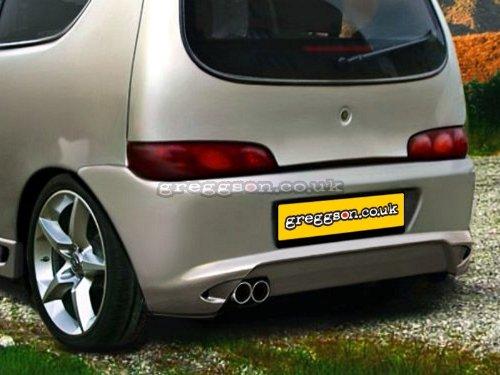 Rear Bumper HSTFISEIC-01 Custom Rear Bumper: