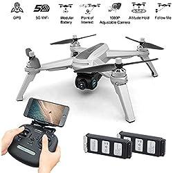 MJX Bugs 5W FPV RC Drone with 1080P HD Camera, GPS, WiFi, Live Video, APP to Control (Follow Me, Encircling Flight, Trajectory Flight)