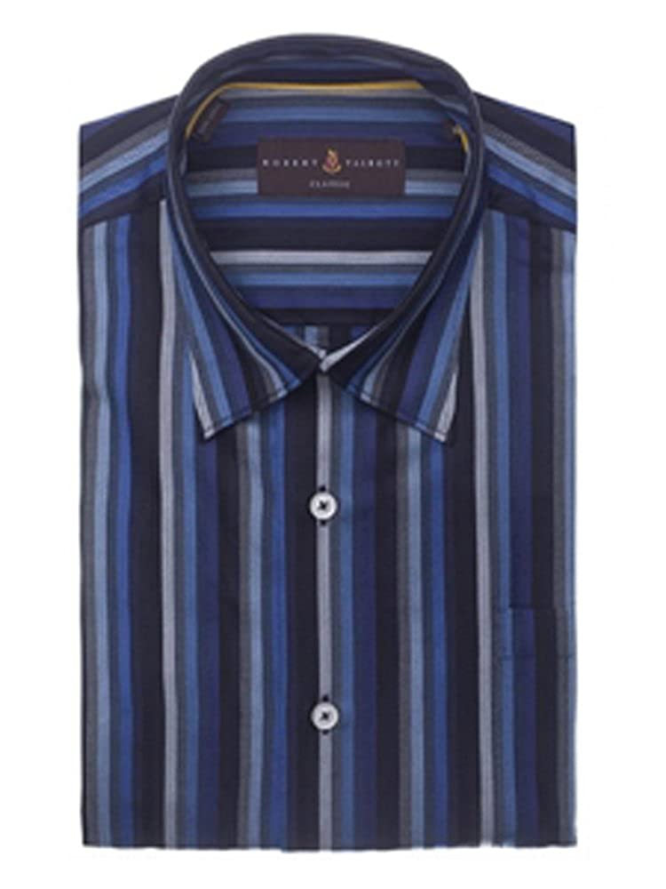 Robert Talbott Blue and Grey Check Anderson Classic Fit Sport Shirt