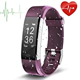 Fitness Tracker, EletecPro Sport Waterproof Smart Watch,Wristband Heart Rate Monitor, Pedometer Bluetooth 4.0
