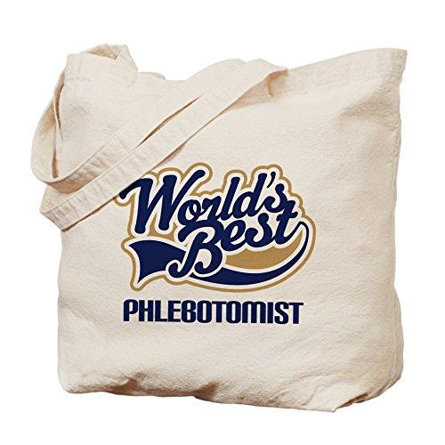 CafePress–Phlebotomist–Borsa di tela naturale, panno borsa per la spesa