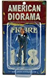 American Diorama 24012 Police Officer II Figure for 1-18 Scale Models