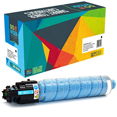 Do it Wiser Compatible Toner Cartridge Replacement for Ricoh Aficio SP C830DN SP C831DN | 821184 821120 (Cyan)