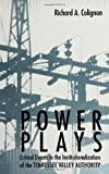 Power Plays : Critical Events in the Institutionalization of the Tennessee Valley Authority, Colignon, Richard A., 079143012X