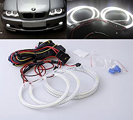 Unipower TMT Leds(TM) Kit LED SMD Angel Eyes Compatible con BMW ...