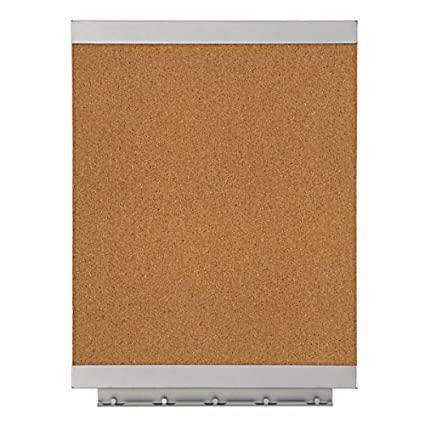 Quartet Envi Recycled Natural Cork Bulletin Board, 11 x 17-Inches, Steel Frame (ENVIB1117)