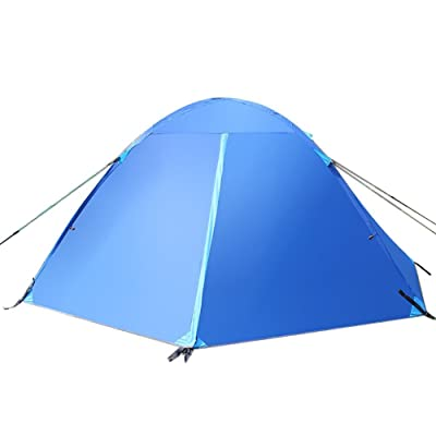 ak-z-01 camping tente tige de verre type unique tente de superposés à cheval -