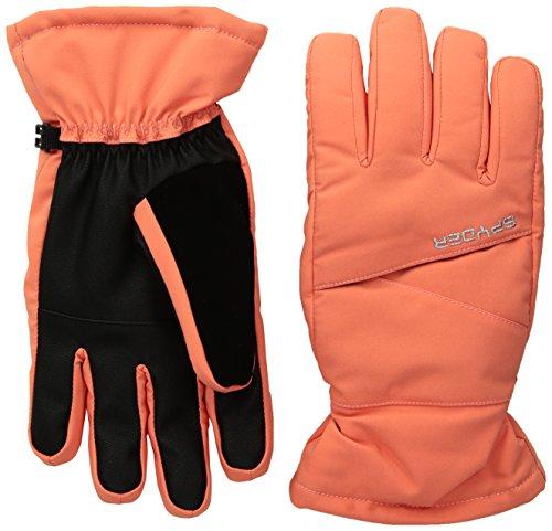 Spyder Kids Glove - Spyder Girl's Astrid Ski Glove, Coral, Small