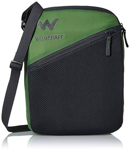 Wildcraft Nylon 6 Ltrs Green Packable Messenger Bag  Pac n Go Sling 2_Green