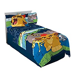 Disney Lion Guard All for One 3 Piece Twin Sheet Set